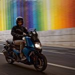 The New BMW C 400 X mid-size scooter 7