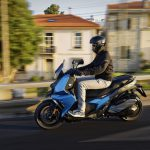 The New BMW C 400 X mid-size scooter 5
