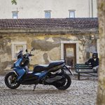 The New BMW C 400 X mid-size scooter 10