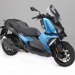 The New BMW C 400 X mid-size scooter 9