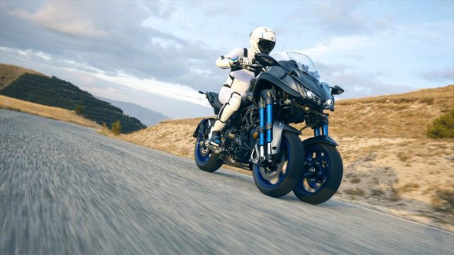 Yamaha Niken comes with extra wheel, starts a revolution 1