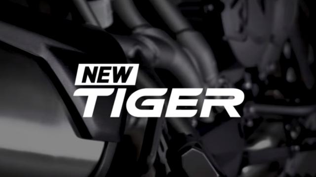 New Triumph Tiger teaser ahead EICMA debut 1