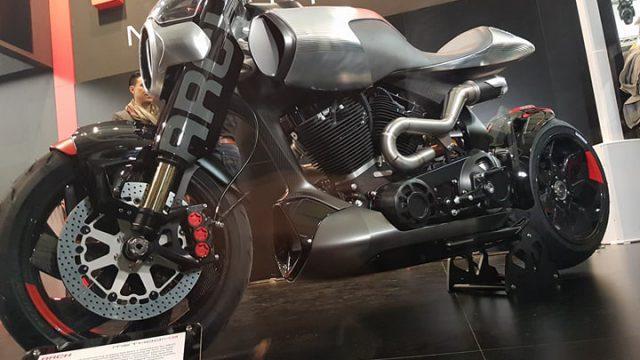 $100K+ Keanu Reeves Motorcycle Unveil & Start-up 1