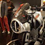 $100K+ Keanu Reeves Motorcycle Unveil & Start-up 11