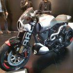$100K+ Keanu Reeves Motorcycle Unveil & Start-up 12