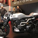$100K+ Keanu Reeves Motorcycle Unveil & Start-up 3