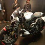 $100K+ Keanu Reeves Motorcycle Unveil & Start-up 13