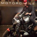 $100K+ Keanu Reeves Motorcycle Unveil & Start-up 14