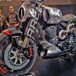 $100K+ Keanu Reeves Motorcycle Unveil & Start-up 7