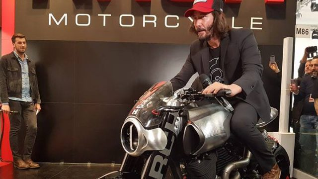 Arch Motorcycles Method 143 Keanu Reeves