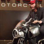 $100K+ Keanu Reeves Motorcycle Unveil & Start-up 15
