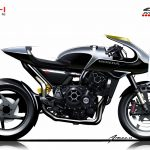 Honda CB4 Interceptor concept begs you to ride off into the near-retro-future 11