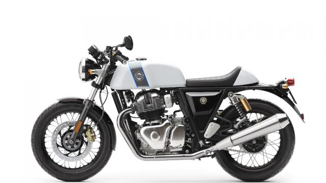 Royal Enfield Continental GT Ice Queen LHS