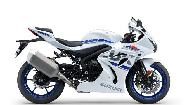 New colors for the 2018 Suzuki GSX-R1000R 1