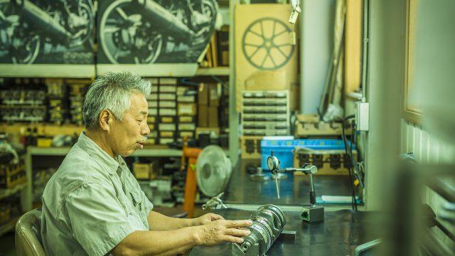 Kawasaki Z900RS Bito engineer