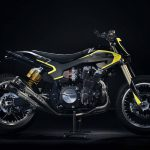 Valentino Rossi Yamaha XJR1300 Flat Tracker 9