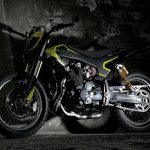 Valentino Rossi Yamaha XJR1300 Flat Tracker 3