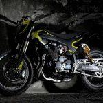 Valentino Rossi Yamaha XJR1300 Flat Tracker 7