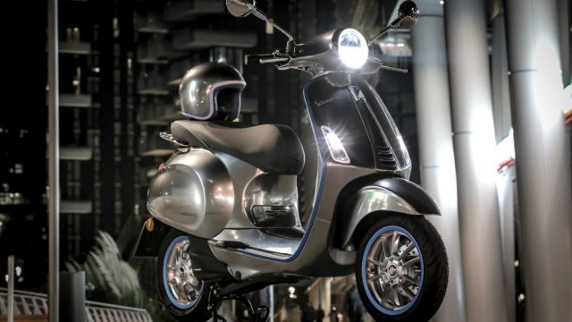 Vespa electric scooter -  up to 200 km (124 miles) range 5