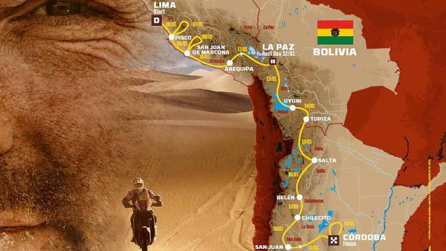 Dakar 2018. The Route 1