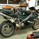 Ducati 996 - the Trellis-framed mechanized movie star 5