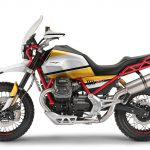 Moto Guzzi V85. Adventure-style Classic 9