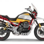 Moto Guzzi V85. Adventure-style Classic 2