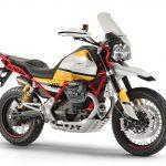 Moto Guzzi V85. Adventure-style Classic 4
