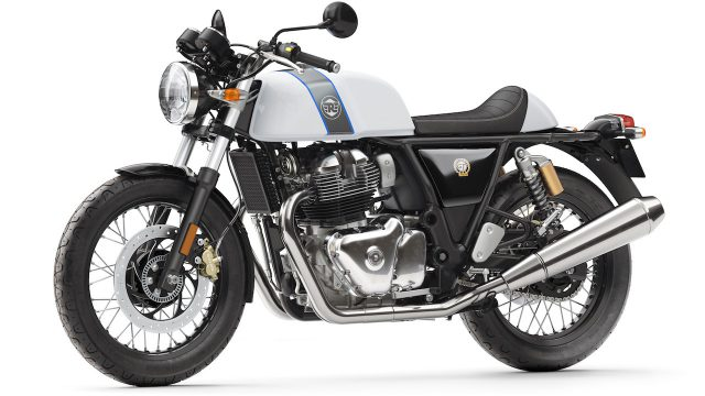 Royal Enfield Continental GT   Ice Queen Front 3 4