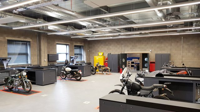 Royal Enfield UK Technical Centre, Leicester 06