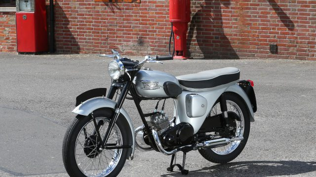 1956-57 Triumph 200cc twin-cylinder two-stroke prototype road test 1