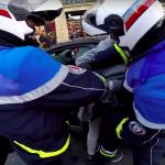 Motorcycle Santa chases hit and run driver 2