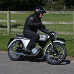 1956-57 Triumph 200cc twin-cylinder two-stroke prototype road test 2