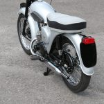 1956-57 Triumph 200cc twin-cylinder two-stroke prototype road test 7