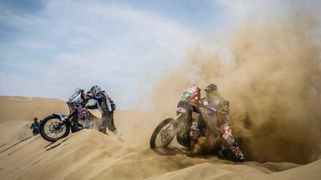 Dakar 2018 stage two - Pisco 2