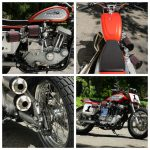 Lawwill Harley Street Tracker: Racer With Lights 8
