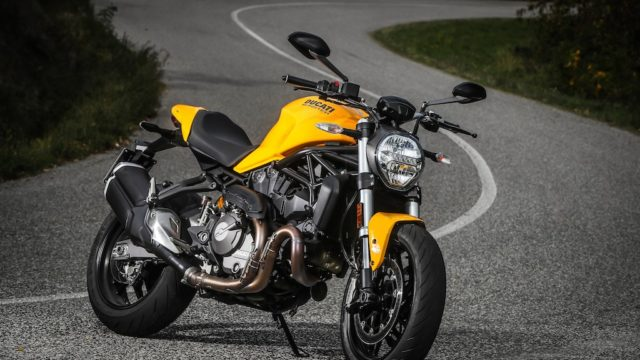 Ducati Monster 821 Test Ride 3