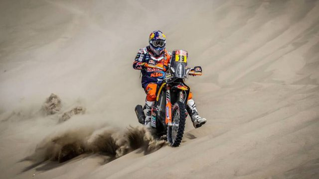 Dakar 2018 day three results 8
