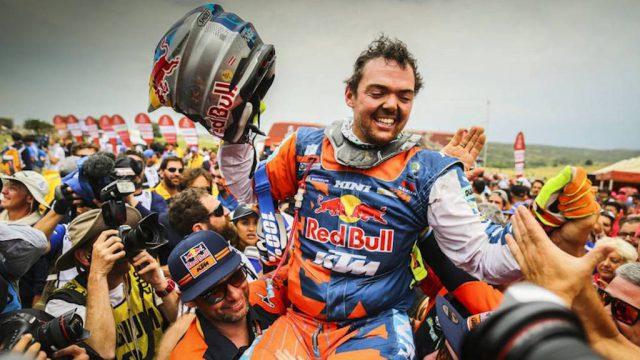 Matthias Walkner wins the 2018 Dakar 1