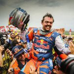 Matthias Walkner wins the 2018 Dakar 3