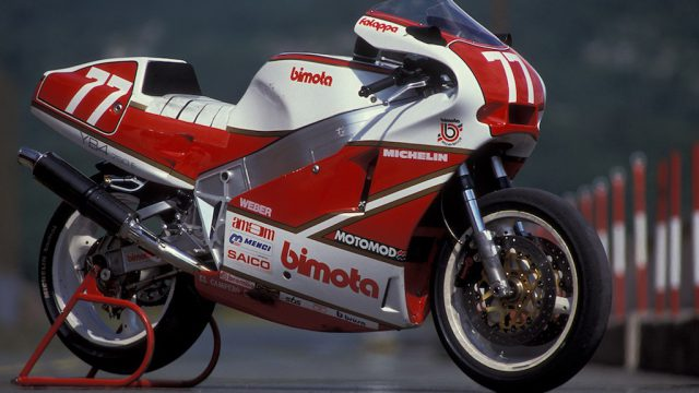 Davide Tardozzi's Bimota YB4EI-R racer test: coulda bin a champion 1