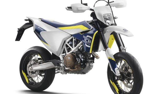 Husqvarna 701 Supermoto Test Ride 1
