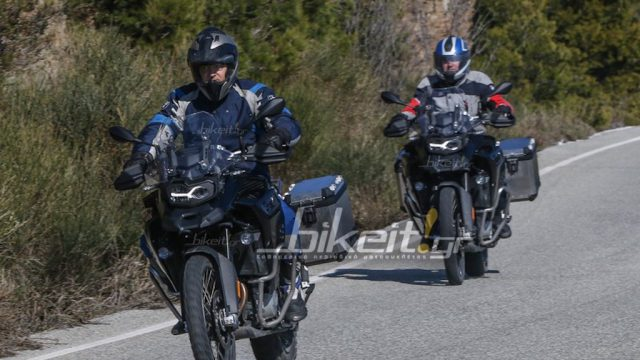 New BMW F850GS Adventure is imminent. Spy-photos 1