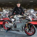 Norton and John McGuinness together for the 2018 Isle of Man TT 2