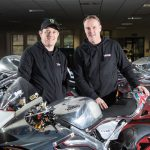 Norton and John McGuinness together for the 2018 Isle of Man TT 3