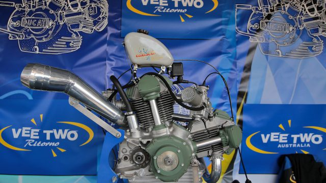 Vee Two Ritorno engine 02