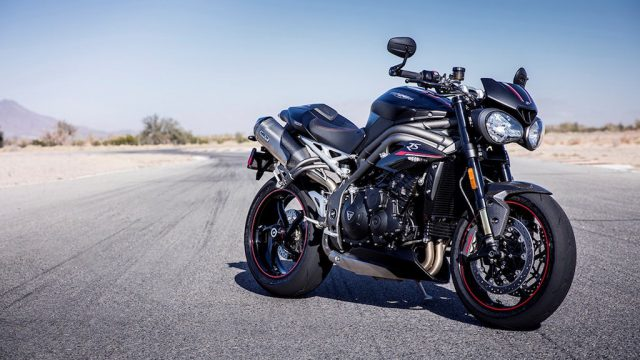 2018 Triumph Speed Triple price announced 3