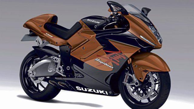 Suzuki Hayabusa gets a new gearbox 10