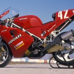 Marco Lucchinelli's 1988 Ducati 851 superbike racer test: start of it all 4
