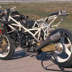 Marco Lucchinelli's 1988 Ducati 851 superbike racer test: start of it all 10